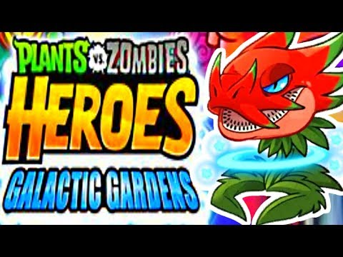 OUT OF THIS WORLD UPDATE! GALACTIC GARDENS! - PVZ Heroes