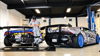 1600 HP SUPERCHARGED LAMBORGHINI'S CARBON WING REVEAL! ALEX CHOI