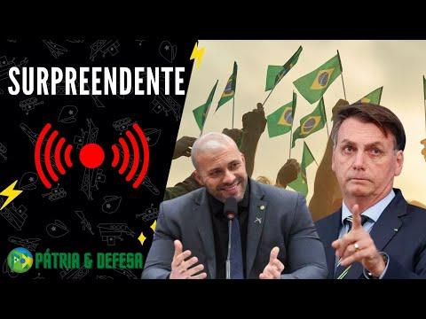 Bolsonaro e Dep. Daniel Silveira Dão Um Passo Importante