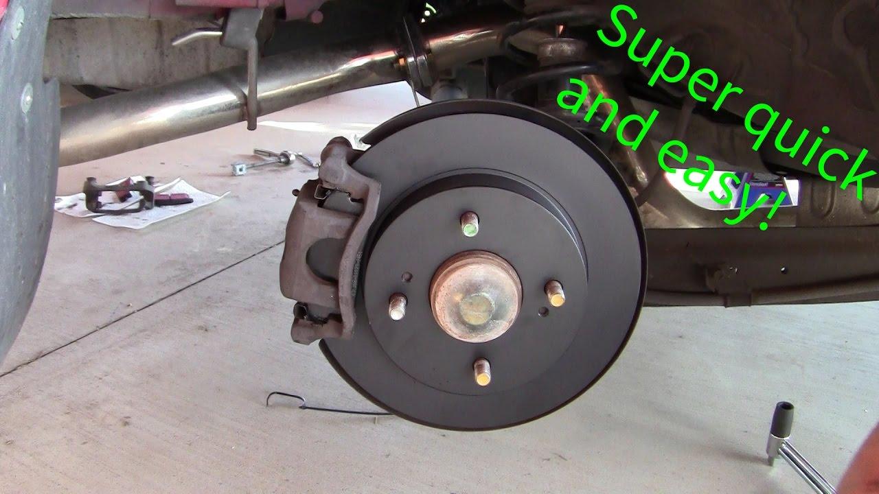 2012 nissan sentra sr rear brakes