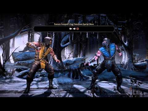 Mortal Kombat X - Tutorial Mode (1080p 60fps)