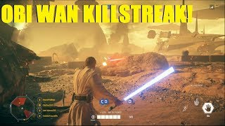 Star Wars Battlefront 2 - Obi Wan Leads attack on Geonosis! | Obi Wan Kenobi killstreak!