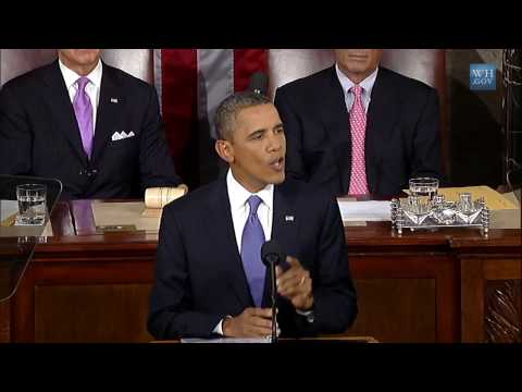 President Obama Presents American Jobs Act