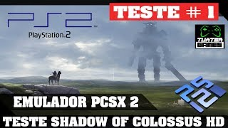 PCSX 2 Linux Shadow of Colossus HD Game play 1080p