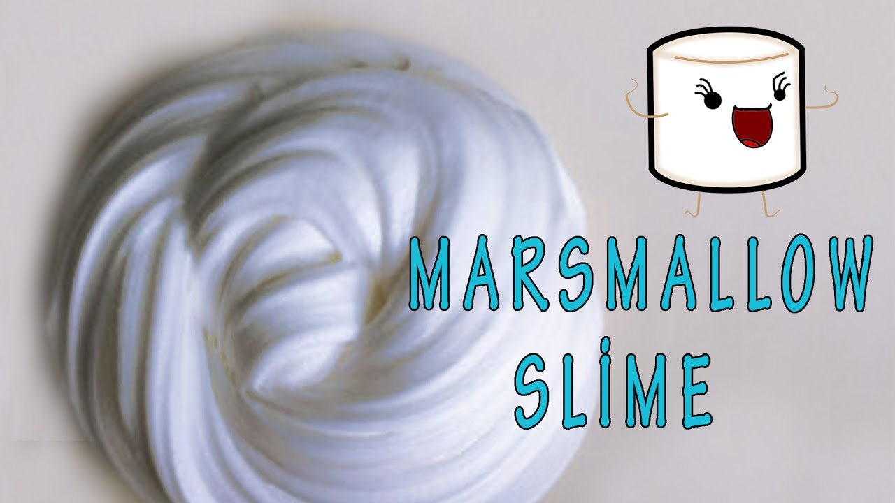 How to make edible slime with marshmallows ingredients