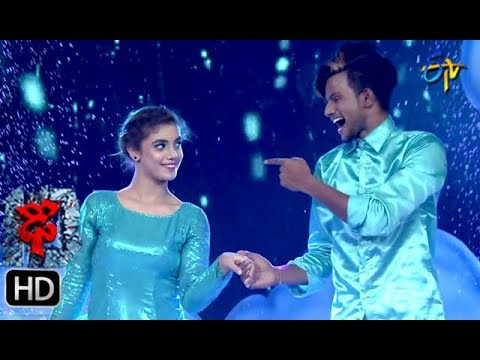 Aqsa Khan Performance | Dhee 10 |  27th June 2018 | ETV Telugu