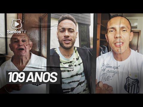 PARABÉNS DOS ÍDOLOS | SANTOS 109 ANOS