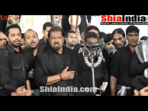 8th Muharram Groh e Kazmi Matam 1437 2015 16
