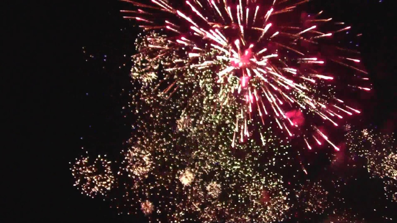 2017 Backyard Fireworks Display Finale!!! Over 300 Mortars