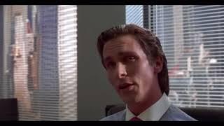 Американский психопат сцена из фильма, кино, отрывок, момент, русский трейлер, тизер