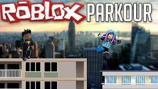SUR LES TOITS DE ROBLOX CITY ! - ROBLOX