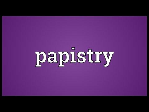 Header of papistry