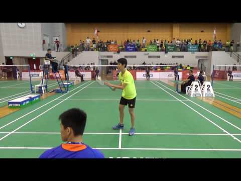 Andy in the final of Singapore Game 2016