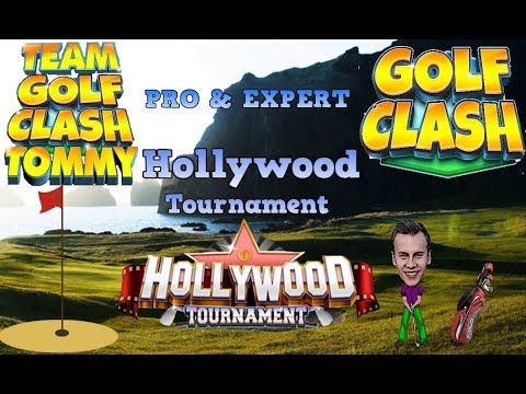 Golf Clash tips, Hole 8 - Par 4, Hollywood Tournament - PRO/EXPERT - Guide/Tutorial
