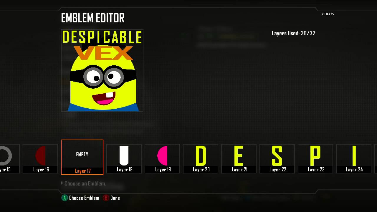 Black ops 2 emblem despicable me minion youtube black ops 2 emblem despicable me minion biocorpaavc Image collections