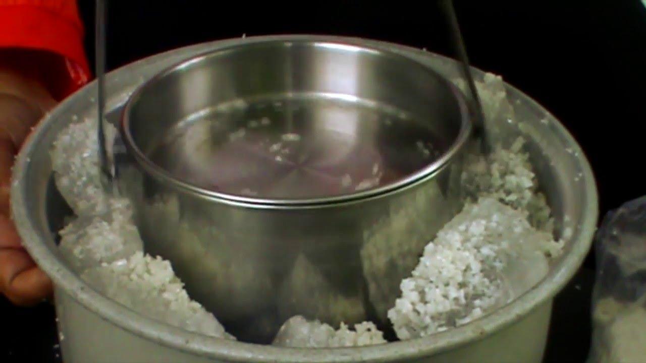 Cara Membuat Es Puter Mudah Dengan Alat Sederhana  YouTube