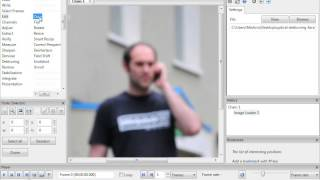 CCTV Optical Image Enhancer - Clean up distorted fuzzy CCTV video, by Amped Software
