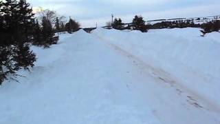 More digging out - Blizzard 2015