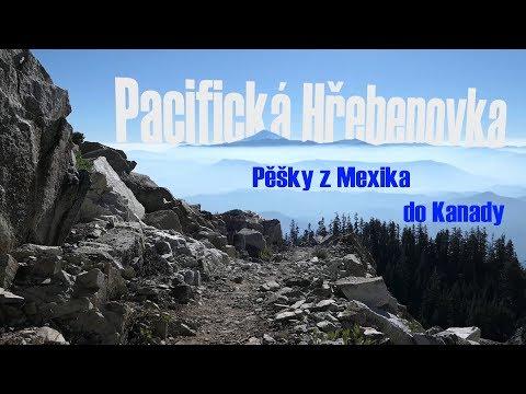 Pacifická Hřebenovka - Pěšky z Mexika do Kanady