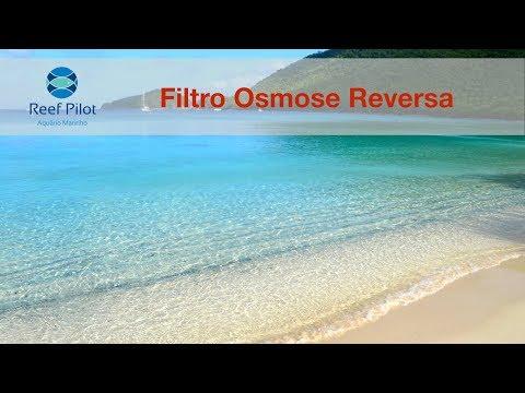 Aquário Marinho - Equipamentos - Filtro de Osmose Reversa