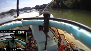 FPV RC boats on the Schiffenensee 16.8.13
