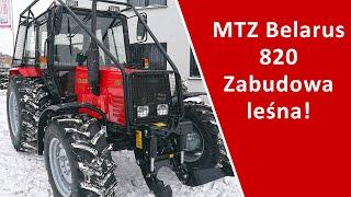 Zabudowa leśna MTZ belarus 820 / www.fhlupus.pl