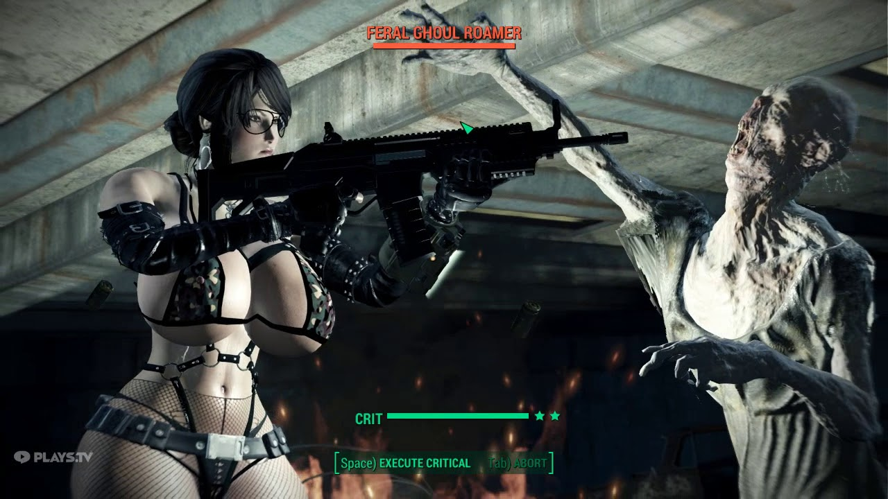 Fallout 4 NSFW mod - getting Exemplar's T-60c armor piece