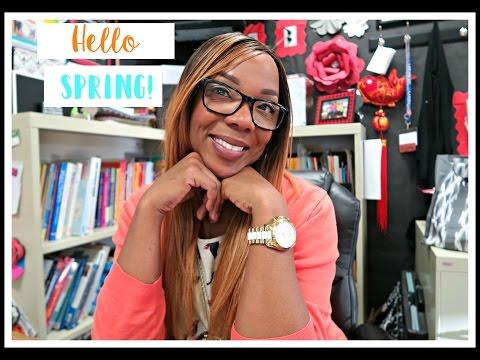 Teacher Vlog: Episode 26 - Hello Spring!