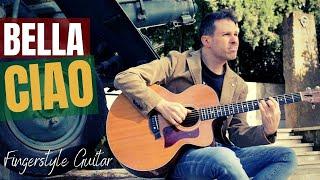 BELLA CIAO // fingerstyle guitar arrangement (Money Heist / Casa de papel)