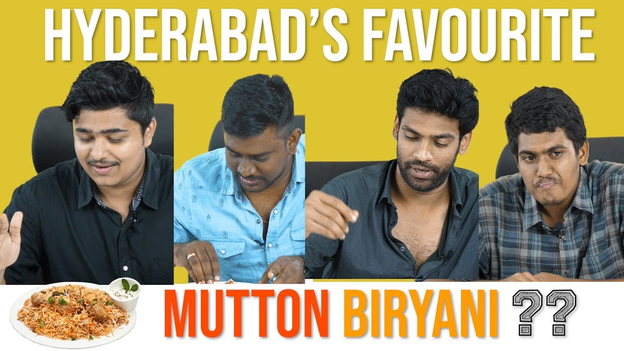 HYDERABAD`S Best Mutton Biryani ?!