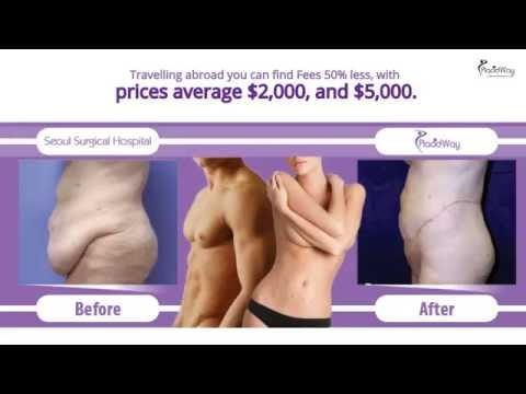 Tummy Tuck Surgery Before and After in Seoul South Korea