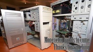 Awesome Year 2000 3DFX Retro Gaming PC build - Voodoo 5 5500...