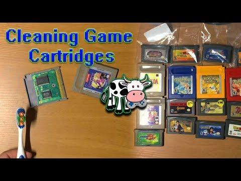 Cleaning Game Cartridges (GB/GBA/N64)