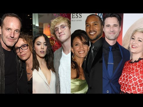 Marvel's Agents of S.H.I.E.L.D. ... and their real life partners
