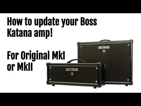[How To] Update Upgrade Your Boss Katana Amp Original MkI MkII