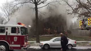 Montgomery County, Rockville MD 2nd Alarm House Fire