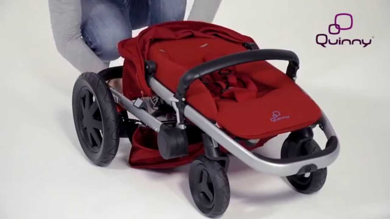 Coche Travel System Zapp Xtra 2 3r Red Rumour Quinny Buzz Xtra How To Use The Buzz Xtra 4 Wheels