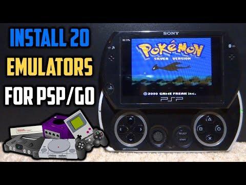 Installing 20 Emulators For PSP In 2 Minutes!