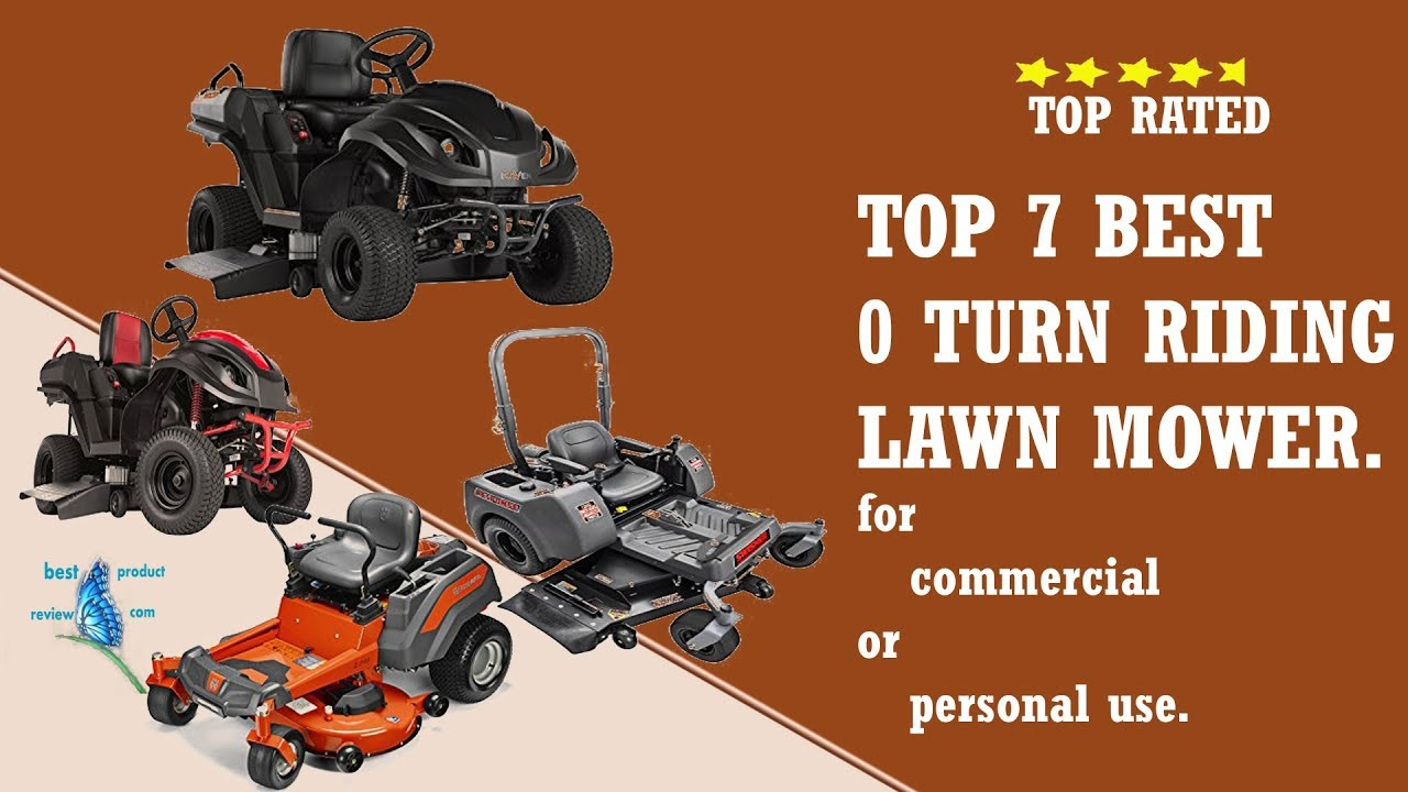 Best Zero Turn Lawn Mower Best Cheap Small Commercial Or