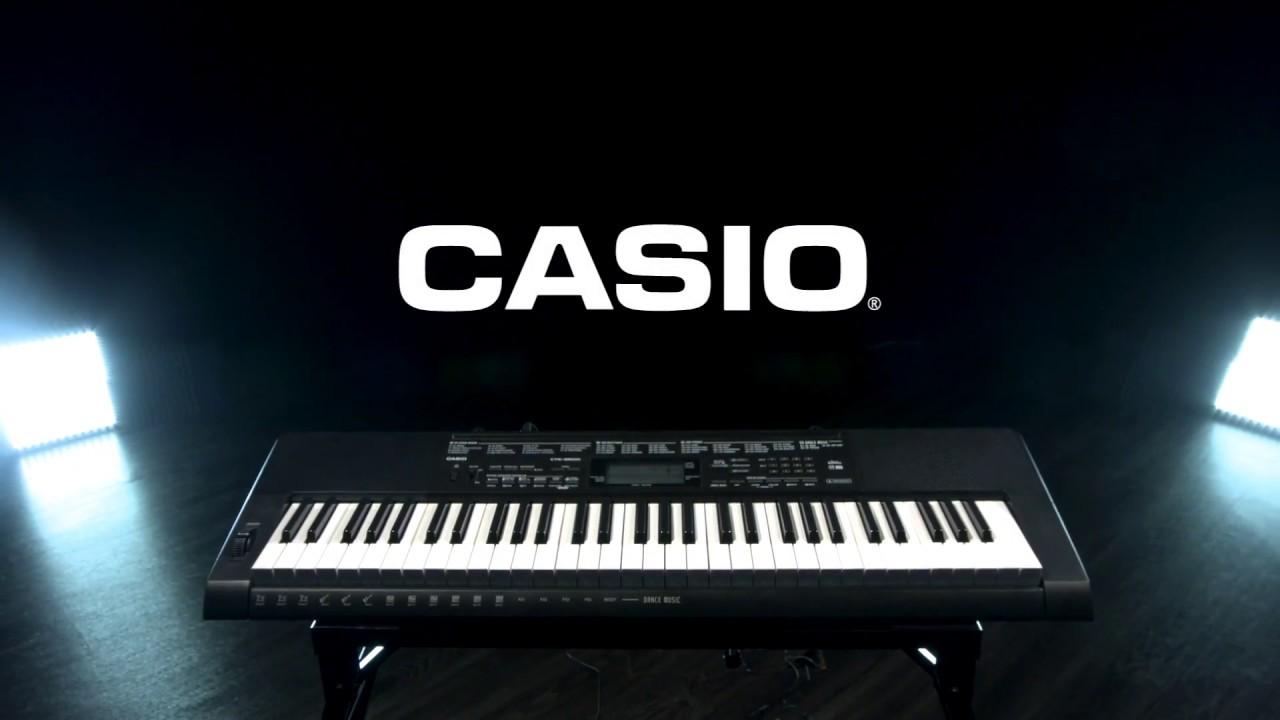 Casio CTK-3500 Portable Keyboard | Gear4music demo