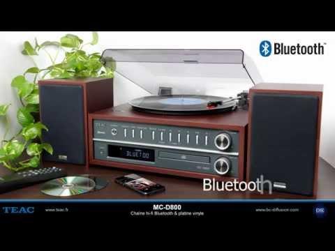 TEAC MC D800 - Chaine hi-fi Bluetooth & platine vinyle