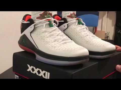20374c0b431f Nike Air Jordan XXXII Gatorade - YouTube