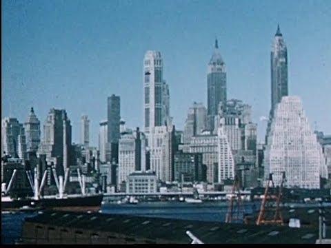 Skyline New York 1955 YouTube