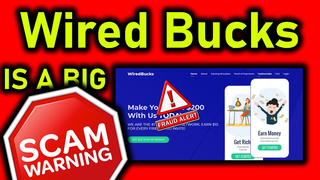 🤬Wired Bucks - SCAM ALERT!! - A FULL Wired Bucks Review (MUST WATCH!!)