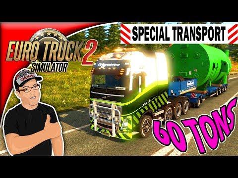 Special Transport ETS2 60 Tons Industrial Condenser