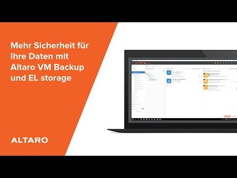 Mehr Sicherheit für Ihre Daten mit Altaro VM Backup und EL storage