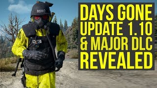 Days Gone Update 1.10 Adds New Difficulty & Major DLC Revealed (Days Gone DLC Release Date) Video