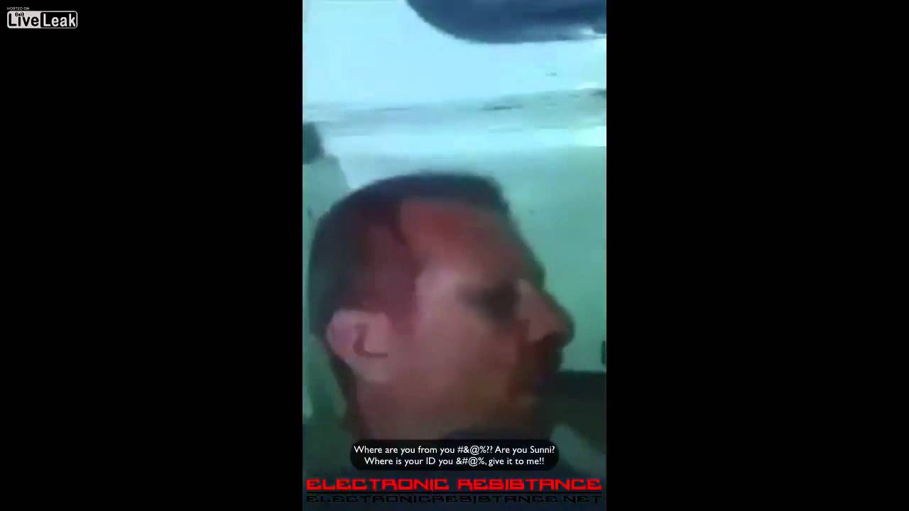 Syrian pilot captured by ISIS refuses to insult Bashar Al-Assad
