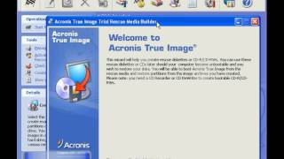 Creation d´un Cd Bootable avec Acronis