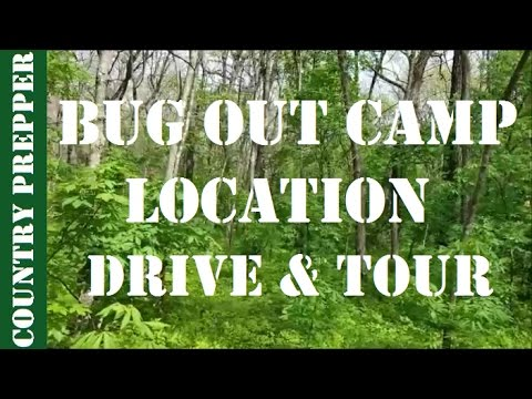 Drive to and Tour of the Bug Out Camp Location